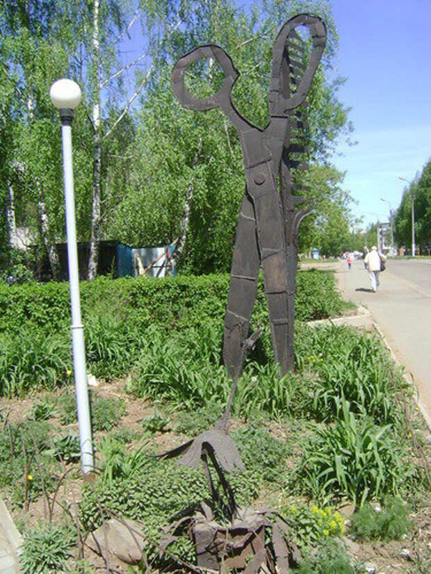 Глазовский «Терминатор» и ижевские «Ножницы» участвуют в конкурсе самых необычных скульптур России