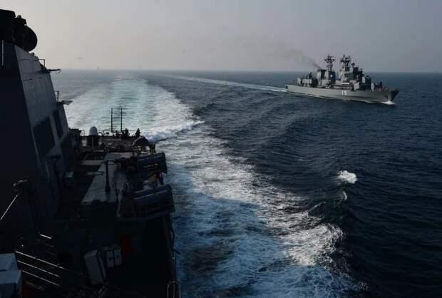 Российским кораблям даже не пришлось сопровождать американцев после их входа в Черное море