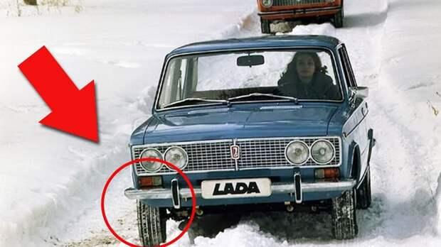 Почему советские автомобилисты ездили на летней резине зимой и не испытывали проблем?