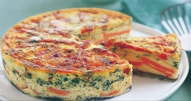 Фриттата: итальянский омлет. Вкусный завтрак