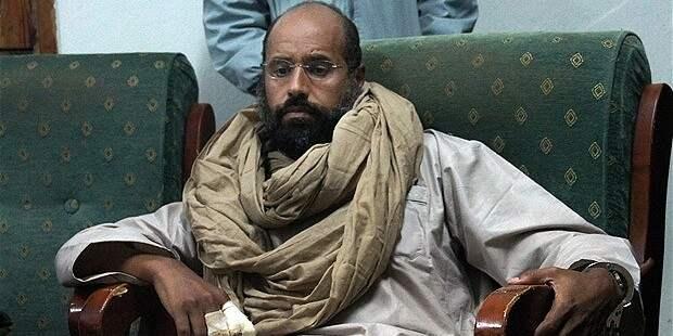 СМИ: сына полковника Каддафи могут расстрелять сегодня