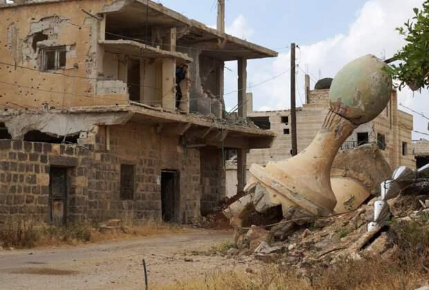 Руины мечети