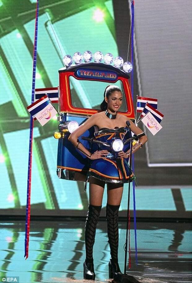 Прошел конкурс мисс Вселенная