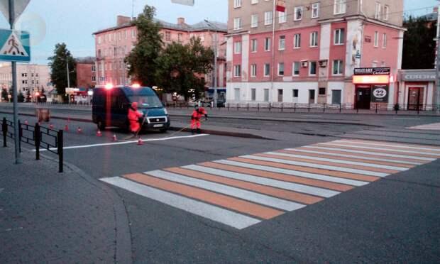 25% дорожной разметки в Ижевске не прошли проверку