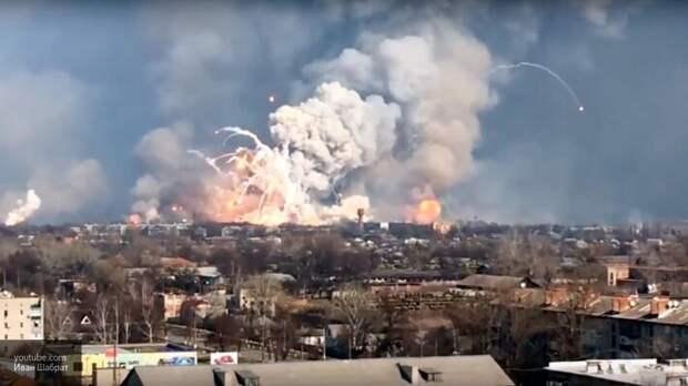 Журавко и Мулик напомнили о больших запасах взрывчатых веществ на Украине