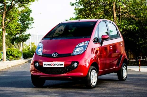 Tata обновила бюджетный компакт Nano
