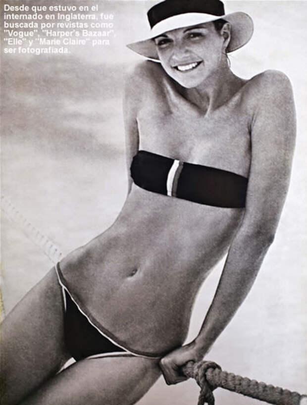 "Сюзи Дайсон, фото в журнале ""Vogue"", 1980-е годы"