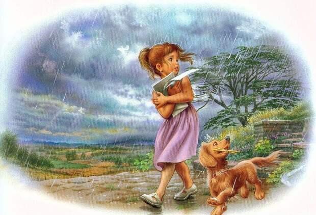 Детские иллюстрации Марселя Марльера.