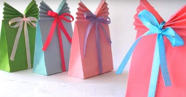 Простая и эффектная упаковка подарка (Diy)