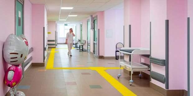 В Тропареве-Никулине открылась детская поликлиника. Фото: mos.ru