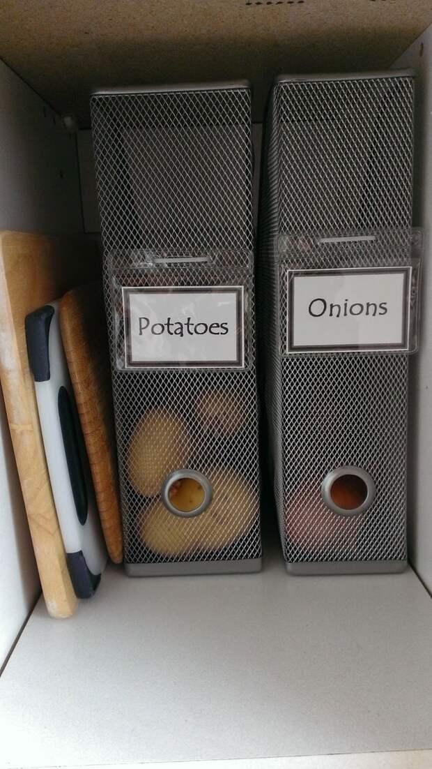 Органайзеры журналов на кухне