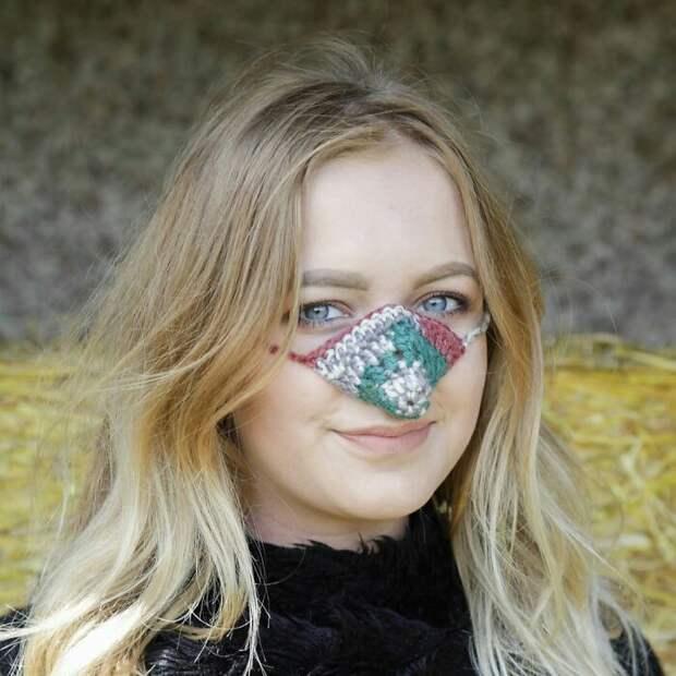 Шапочки для носа (подборка)