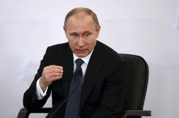 Путин рассказал о миролюбивой внешней политике России