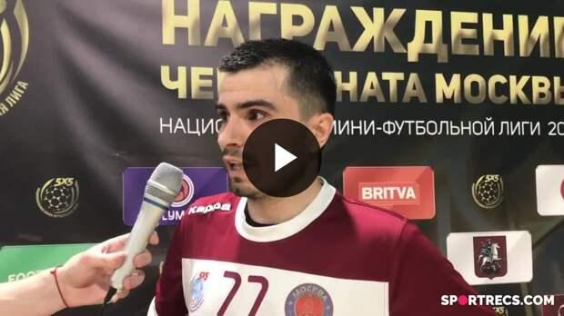 """Эльнур Велиев """"Москва"""" (интервью)"""