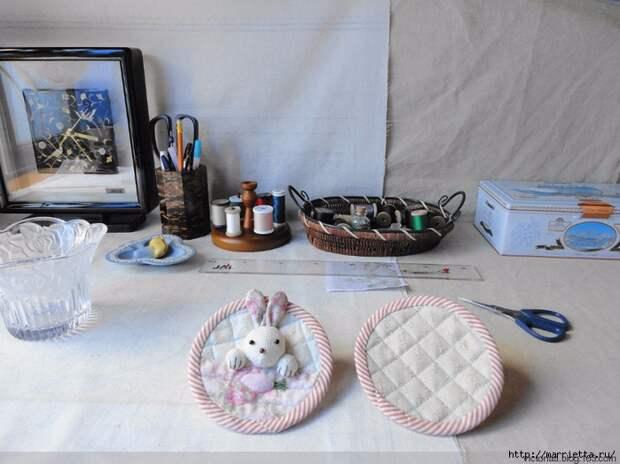 Лоскутное шитье. Кошелек с кроликом (34) (700x524, 262Kb)