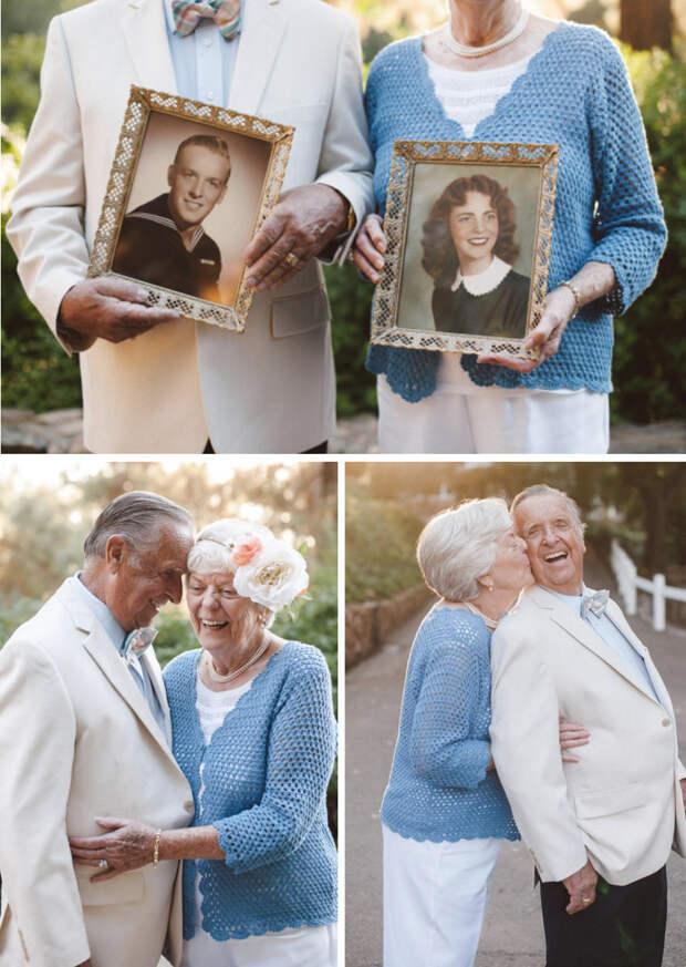 3. Любят друг друга уже 61 год  вера, любовь, пара