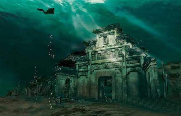 Какие тайны хранит затопленный древний город Шичен в Китае