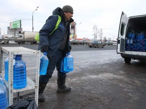 Продавцов метиловой незамерзайки в Москве оштрафовали на 370 тыс. рублей