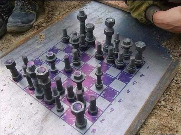Суровые челябинские шахматы