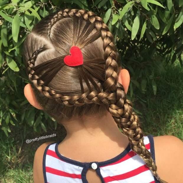 Косоплетение - самое любимое хобби Шелли  дочь, коса, мама, прическа