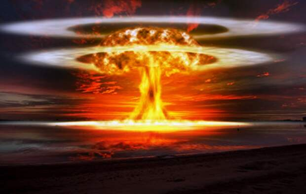 Ядерный взрыв в сердце Европы