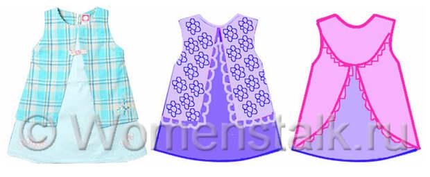сшить детское платье своими руками