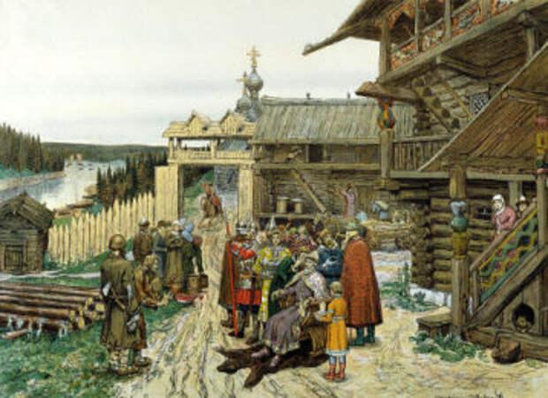 Удельный князь худ. Апполинарий Михайлович Васнецов
