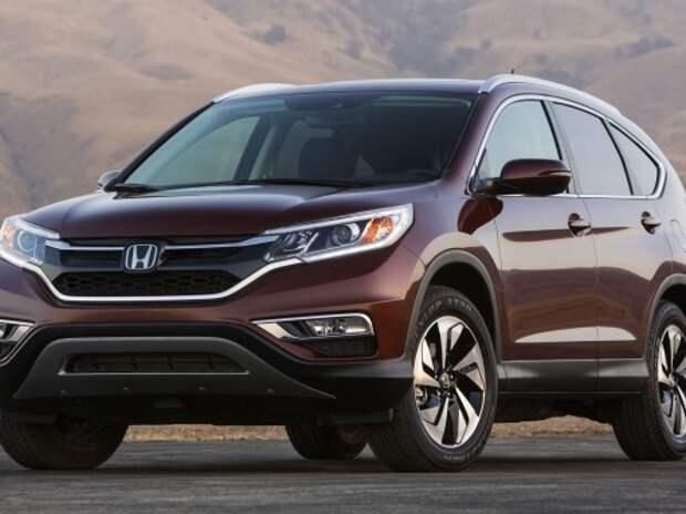 Обновленная Honda CR-V – первое официальное фото