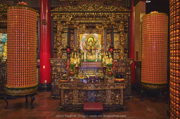 Где помолиться в Тайбэе или три главных храма столицы Тайваня