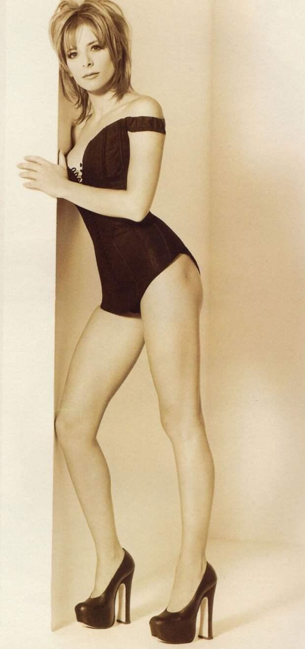 Милен Фармер (Mylene Farmer) в фотосессии Херба Ритца (Herb Ritts) для сингла L'Instant X (1995), фото 1