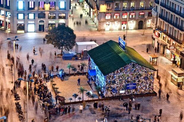 1. Отель из мусора в Мадриде архитектура, здания, мусор, отходы, факты