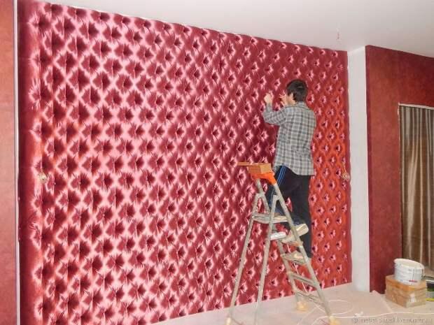 Мягкие стеновые панели – новое звучание старинного декора помещений (65 фото)