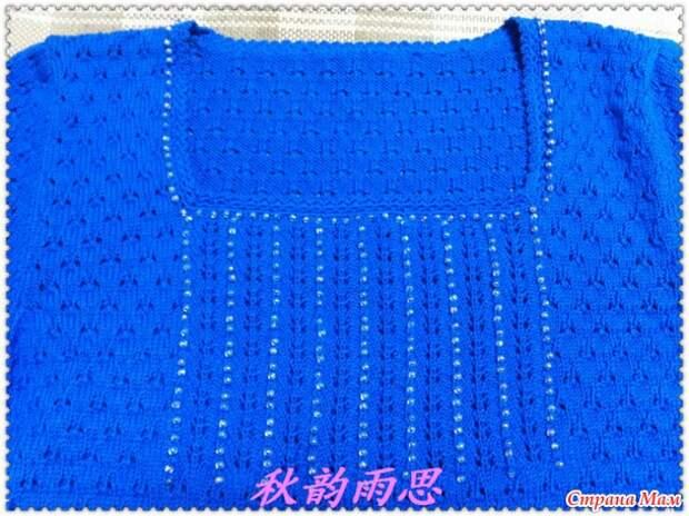 Узоры для пуловера. Спицы+крючок.