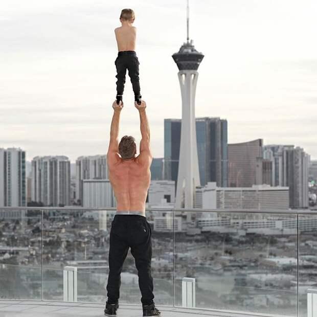Самый популярный отец-одиночка «Инстаграма» (25 фото)