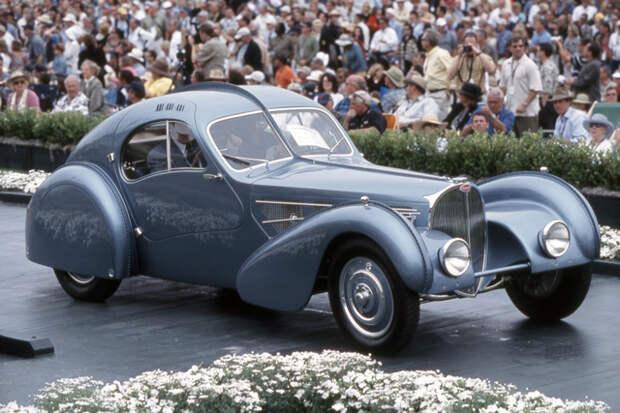 Автомобиль Bugatti Type 57SC Atlantic