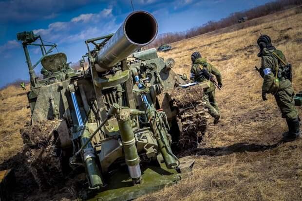 Самоходная артиллерия России и США
