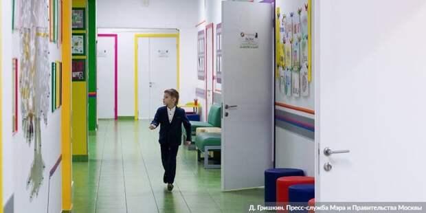 Собянин: Около 100 школ и детсадов будет построено в Москве за три года.Фото: Д. Гришкин mos.ru