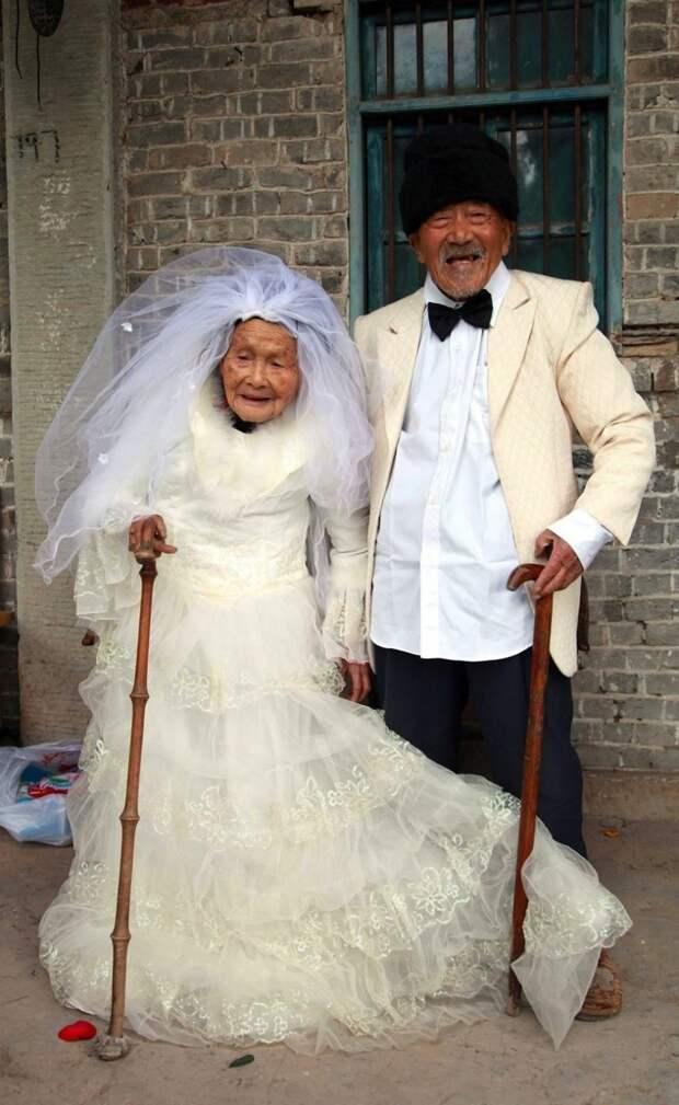 19. На двоих им больше 200 лет, а их свадьба состоялась 88 лет назад вера, любовь, пара