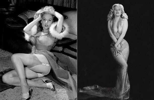 Бетти Бросмер - королева пин-апа: самая сексуальная фотомодель 1950-х годов