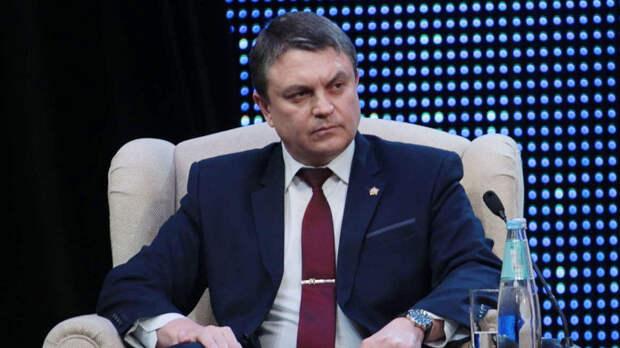 Глава ЛНР заявил о готовности встретиться с Зеленским на линии соприкосновения