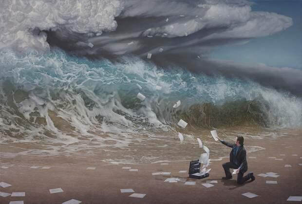 Завораживающие сюрреалистические картины
