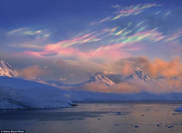 Перламутровые облака