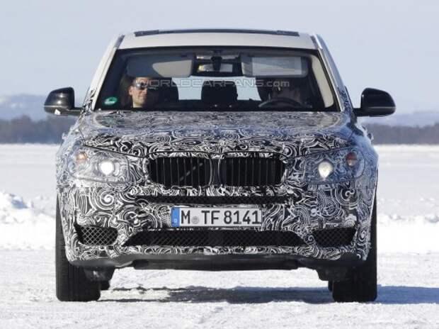 Шпионы впервые наткнулись на новый BMW X3