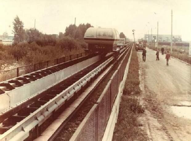 Концепты советской эпохи: поезд на магнитной подушке