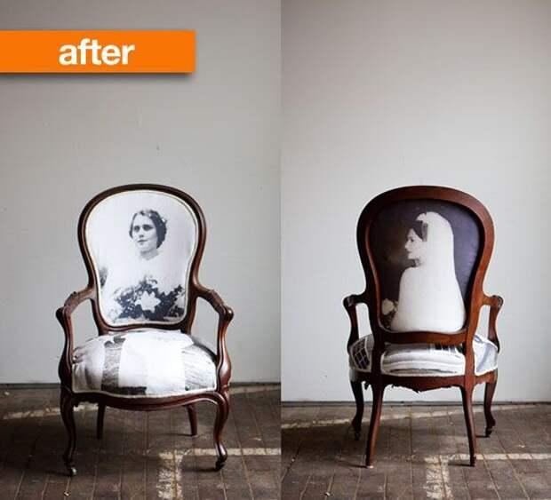 Кресла с лицами (подборка)