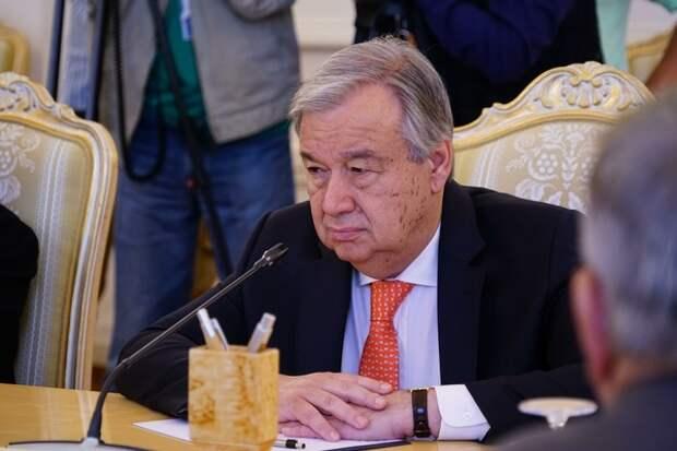 Генсек ООН Гутерреш: «Я взываю к воюющим сторонам, остановите военные действия»