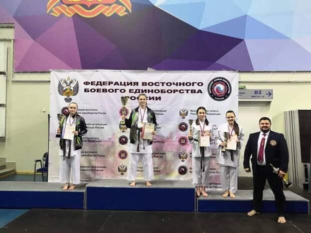 Сборная Адыгеи завоевала победу в Чемпионате России по восточным боевым единоборствам
