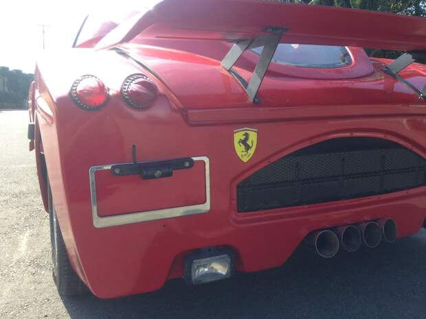 Ужасная реплика Ferrari Enzo Fiero, enzo, ferrari, pontiac, копия, реплика