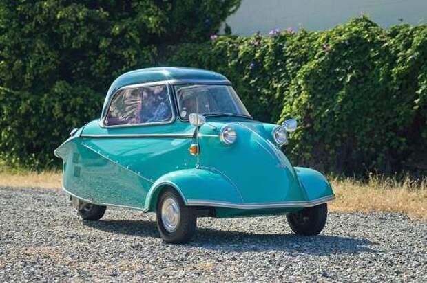 10 красивых, редких и необычных машин