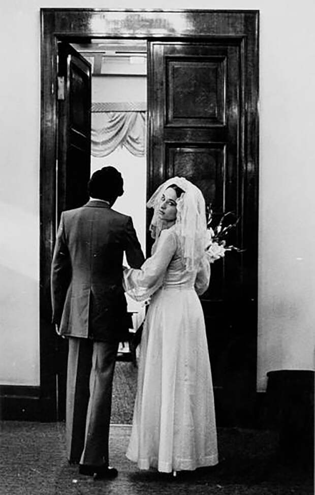 ФОТО советских свадеб разных лет